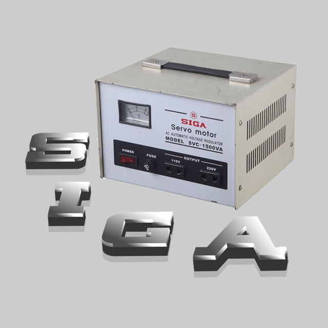 servo-motor AC Automatic Voltage Stabilizer SVC-1500VA,high accuracy ...