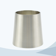 Sanitary welded concentric reducer