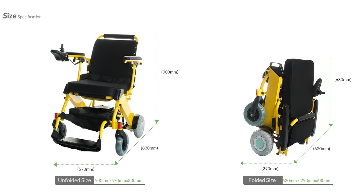 1--Yellow-Electirc-Power-Wheelchair