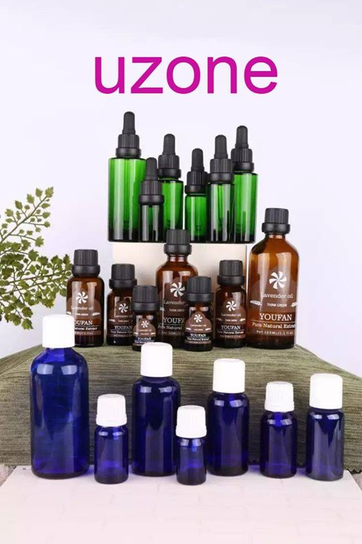 uzone Essential Oil and Dropper Bottle