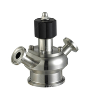 Stainless Steel Hygienic Pneumatic Aseptic Sampling Cock Valve
