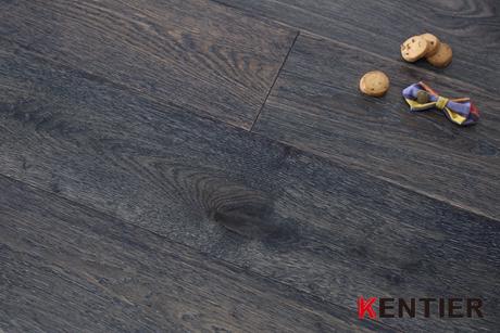 K1701-Easilly installed engineered flooring with black walnut top veneer