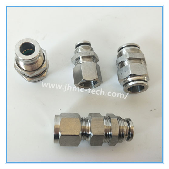 Stainless Steel Push-in Bulkhead fittings