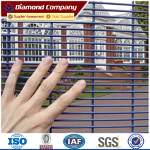 High security boundary gate fencing,358 anti-cut prison fence,anti-climb welded mesh panel fence
