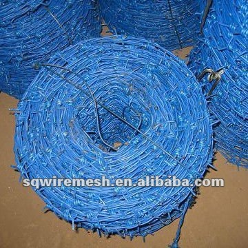SanQiang hot sale Barbed wire length per roll /barbed wire fence/barbed wire price alibaba express