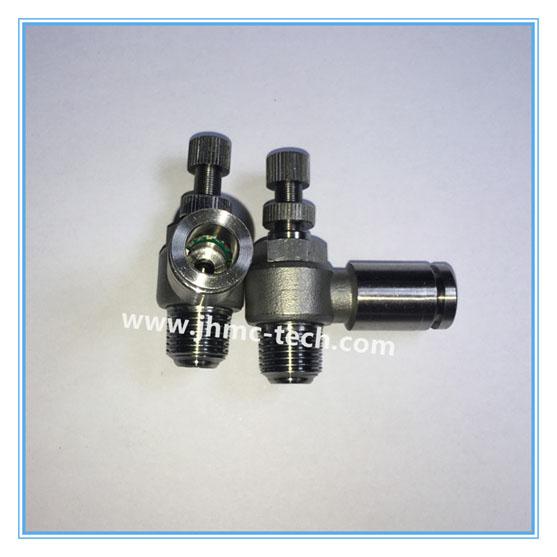 304/316 Push-in Speed Control valve