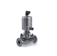 Sanitary Air operated Clamp Diaphragm Valve