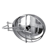 Sanitary Stainless Steel Inward Opening Oval Manhole