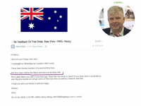 Customers from Australia, cooperating for 6 years, 3 million USD transactions per year