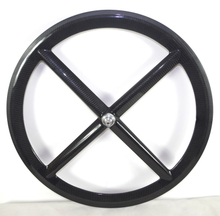 4 SPOKES CARBON WHEELS FIXED GEAR TRACK CARBON WHEELS 50MM DEPTH