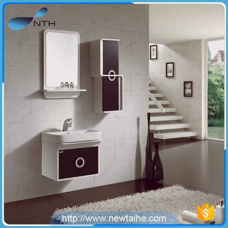 Acrylic solid wood pvc bathroom cabinet - Buy pvc bathroom cabinet ...