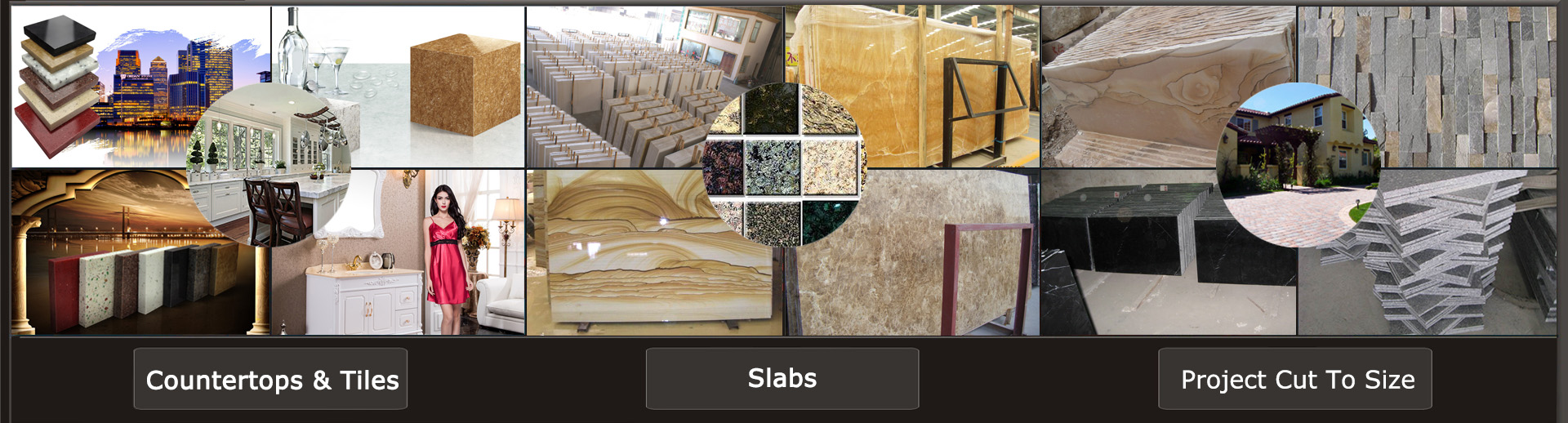 China Stone Countertops and Tiles and Slabs and Cut to Size