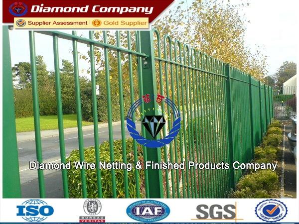 Super beautiful Ornamental Fenceornamental double loop wire fence