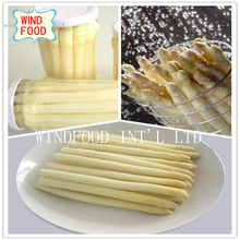 Glass Pot White Asparagus
