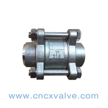3pc Body Vertical Check Valve