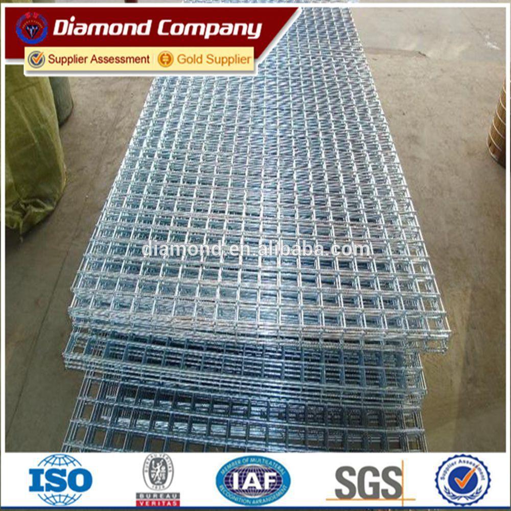 4x4 welded 1x1 galvanized welded wire mesh panel chicken cage ...