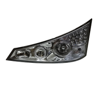 HC-B-1158-1 Bus Auto Headlamp With Bulb With CCC Black White