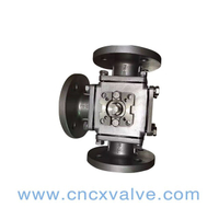 3 Way Flanged Ball Valve