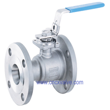 1PC Body Flanged Floating Ball Valve
