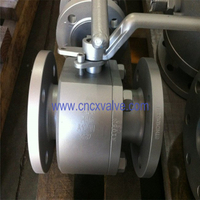 2PC Flanged Forging Type Floating Ball Valve