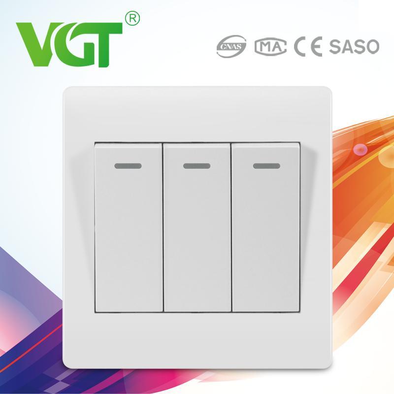 Z013W 3gang 2way switch - China ZENPEN Electric Appliance