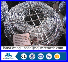 galvanized spiral barded wire