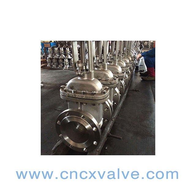clase 150 de la válvula de puerta del acero de molde