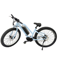 bottom price 8 fun mid-drive fat tire e-bike for lady