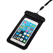 Universal PVC dry bag mobile phone waterproof pouch for iphone 6, pvc waterproof pouch for swimming