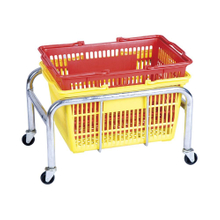 Manufacturer 30 Liters Safety Design Plastic Baskets Stackable Holder