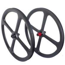 27.5ER FOUR SPOKES MTB CARBON WHEELS TWO PCS