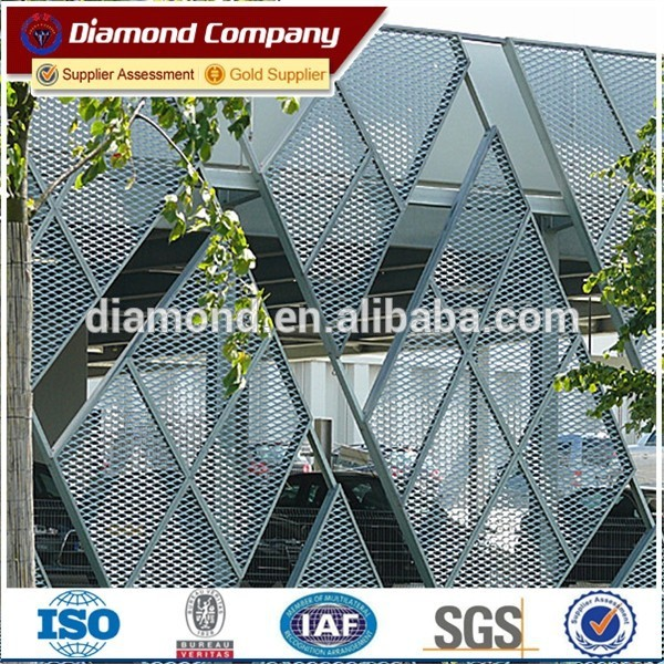 Heavy Duty Expanded Metal Mesh Panel Trailer Mesh / expanded metal ...