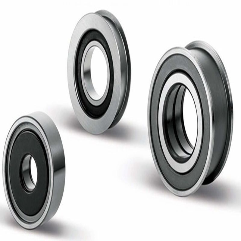 Mast Rollers - Single Row Deep Groove Ball Bearing Type With Crowned Outer Ring