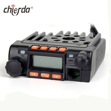 CD-666 Mini walkie talkie de 25 vatios con banda dual uhf vhf mobile radio
