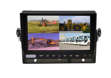 7 inch stand alone monitor with 4 video input