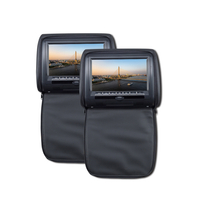 "7"" HD LED Headrest DVD Player with Pillow"