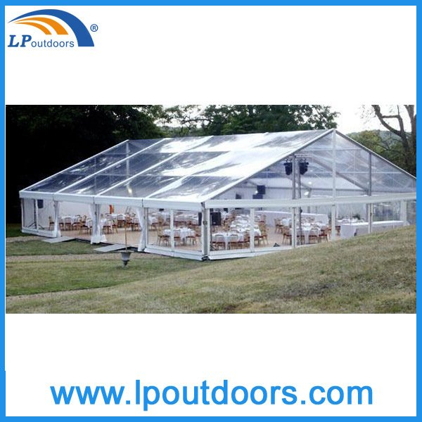Luxury Transparent Clear Marquee Tent for Outdoor Romantic Wedding