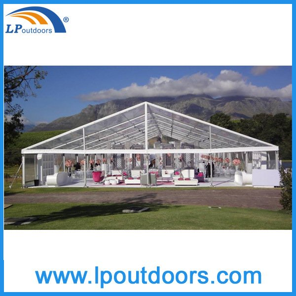 Luxury Transparent Clear Roof Party Wedding Events Marquee Tent