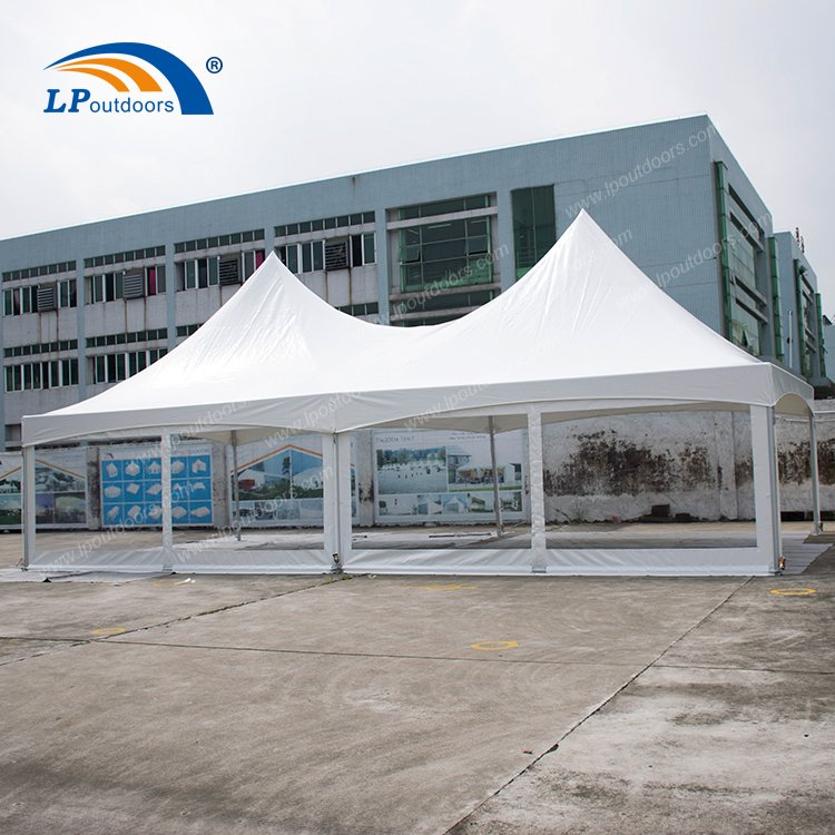 6X12 double top frame tent006
