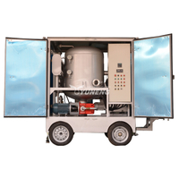 9000L/H Yuneng ZJA9BT Double-stage Vacuum Transformer Oil Filtration Machine with Trailer