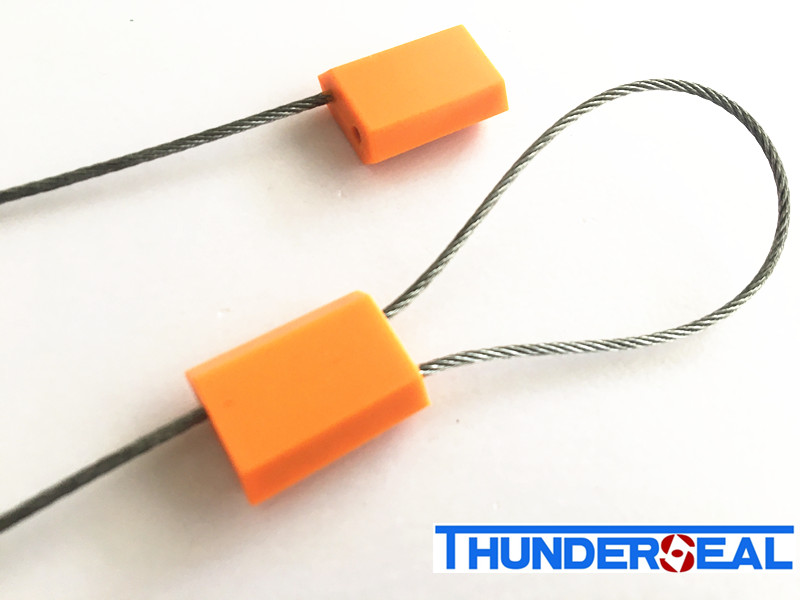 Pull Tight Zinc Plastic Coated Cable Seals Manufacturers