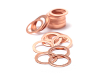 Solid Copper Gasket and Exhaust Copper Gaskets
