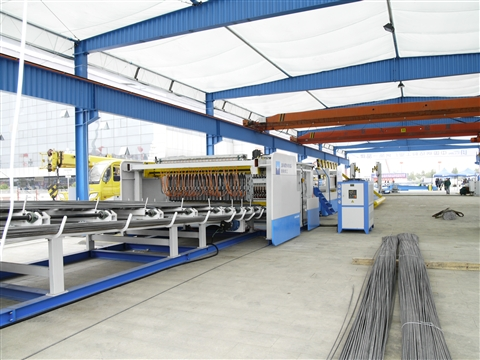 reinforcing wire mesh welding production line