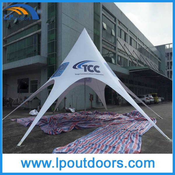 Dia12m Outdoor Advertising Shelter Star Shade Tent