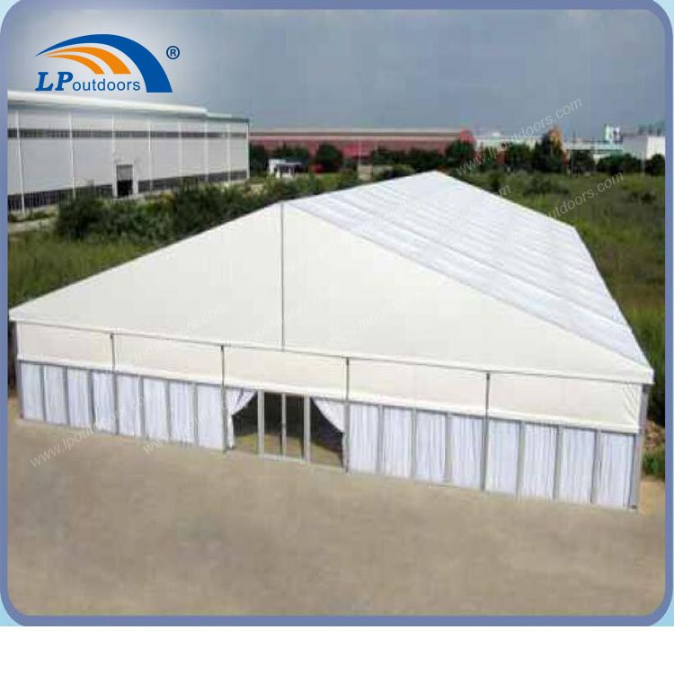 25m glass wall tent
