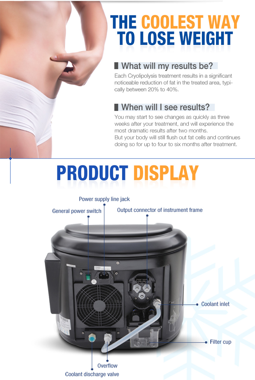 portable cryolipolysis machine display (2)