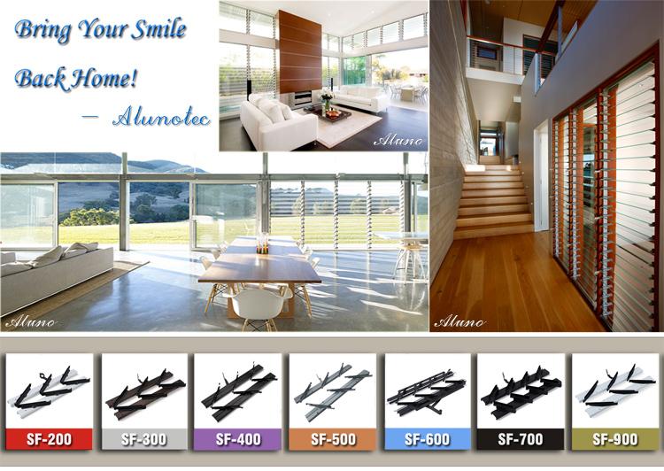 Wonderful 4 Blades 380mm Aluminum Plastic Clip Shutter Window Frame - Buy  YG55