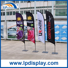2.8m Feather Flag with Square Base Banners for Advertising Promotion
