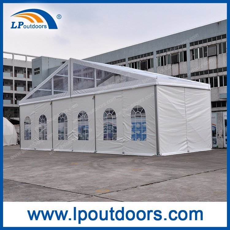 Outdoor Luxury Aluminum Party Wedding Marquee Transparent Tent
