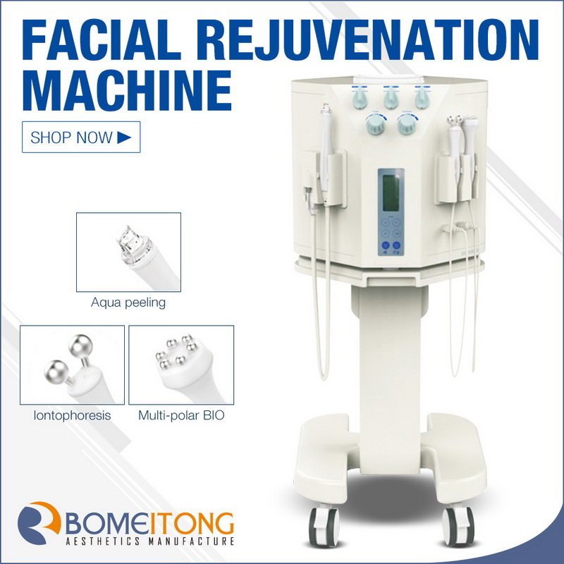 Aqua peel machine rf bio facial rejuvenation system SPA18
